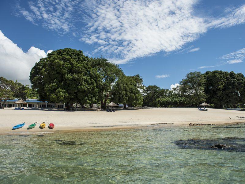 Strand am Malawisee - Foto CAWS