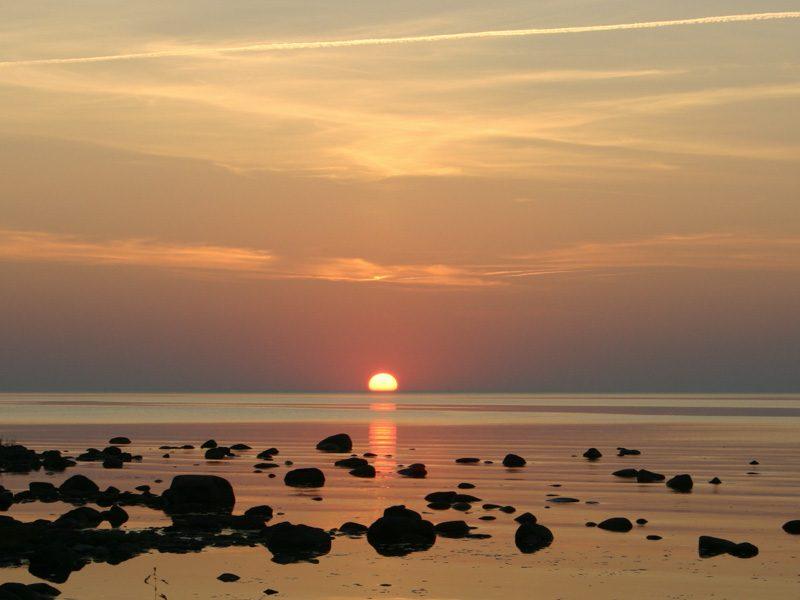 Küste von Saarema - Foto Ulrike Wizisk